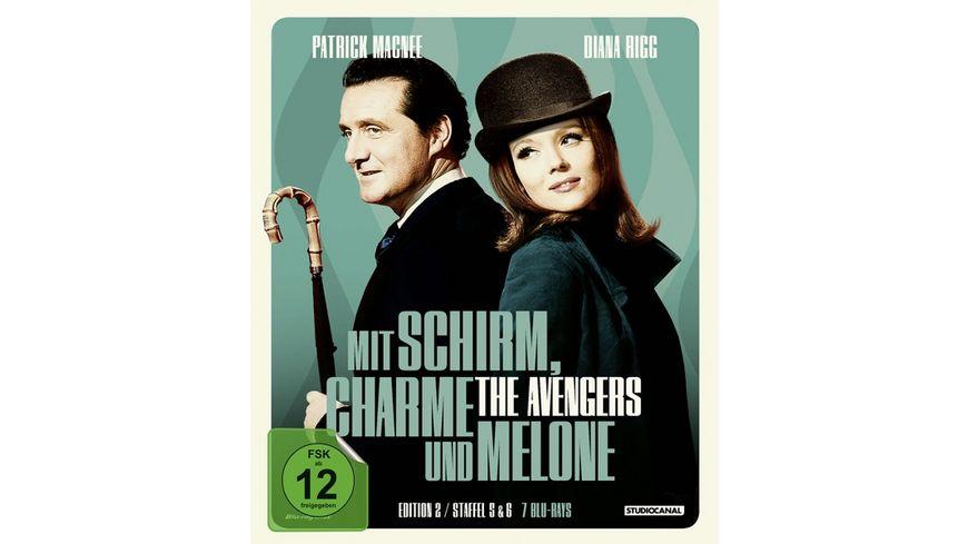Mit Schirm Charme und Melone Edition 2 7 BRs