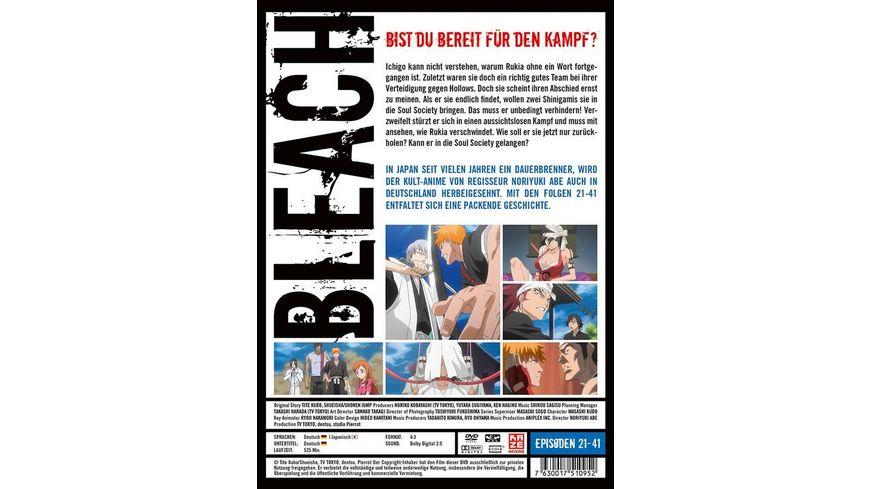 Bleach TV Serie Box 2 Episoden 21 41 3 DVDs