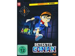 Detektiv Conan TV Serie DVD Box 1 Episoden 1 34 6 DVDs