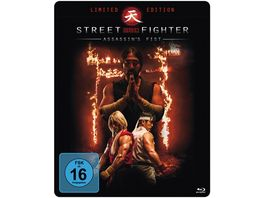 Street Fighter Assassin s Fist Steelbook