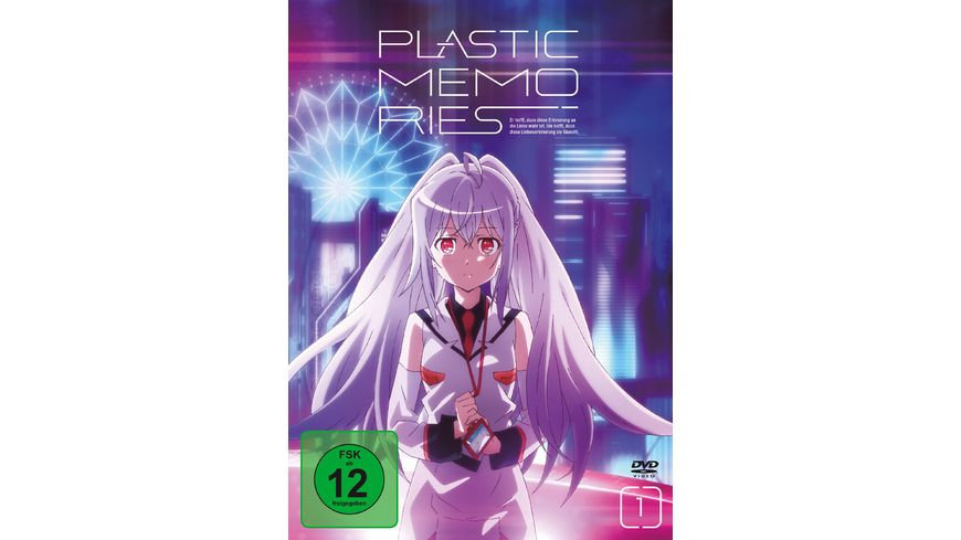 Plastic Memories Vol 1 Ep 1 6 2 DVDs Limited Edition mit Soundtrack