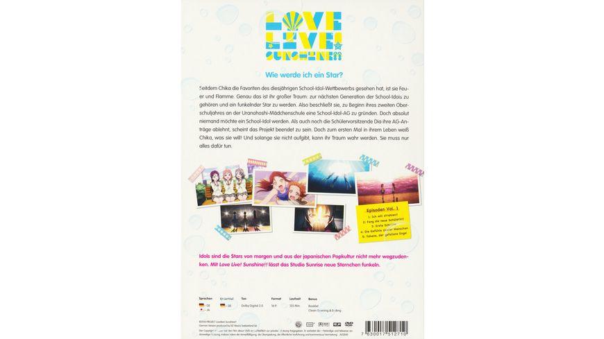 Love Live Sunshine Vol 1