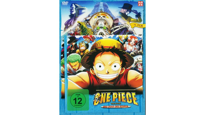 One Piece 4 Film Das Dead End Rennen LE