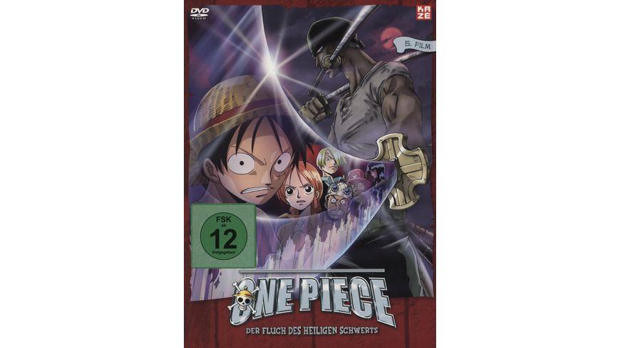 One Piece 5 Film Der Fluch des heiligen Schwerts LE