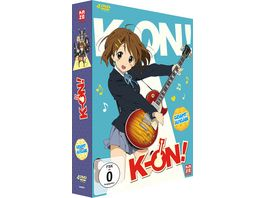 K ON Staffel 1 Gesamtausgabe 4 DVDs