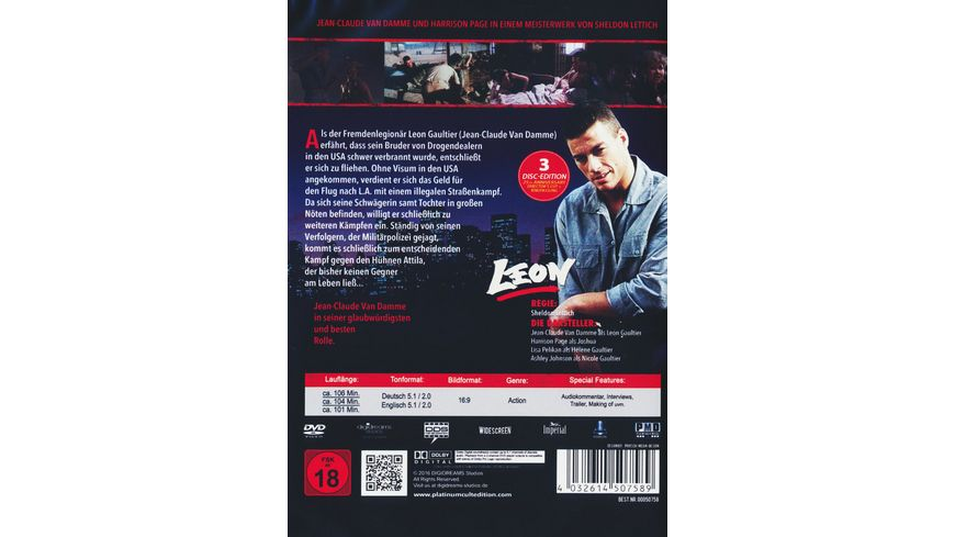 Leon Complete Edition 3 DVDs