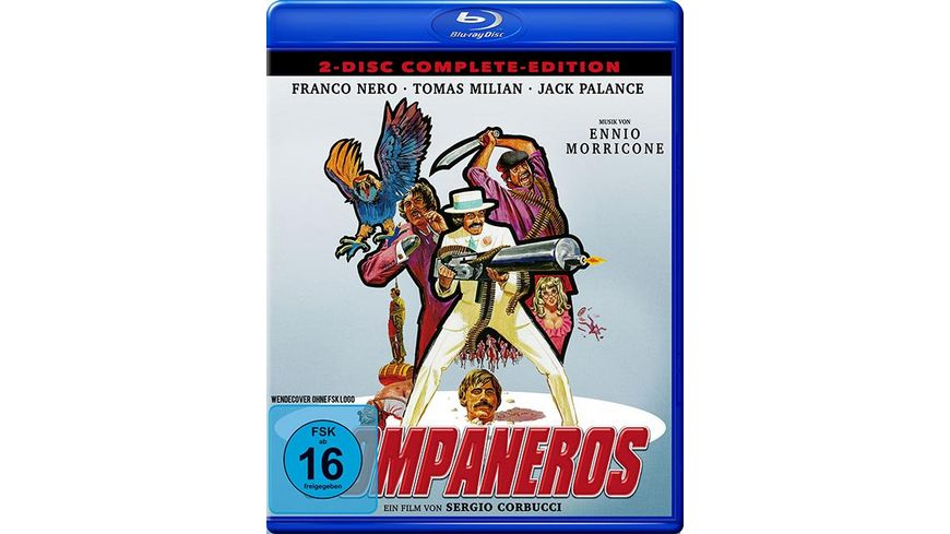 Zwei Companeros Complete Edition DVD