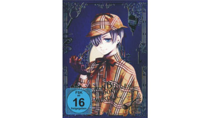 Black Butler Book of Murder 2 DVDs