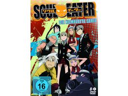 Soul Eater Die kompl Serie Sammelschuber und Booklet 8 DVDs