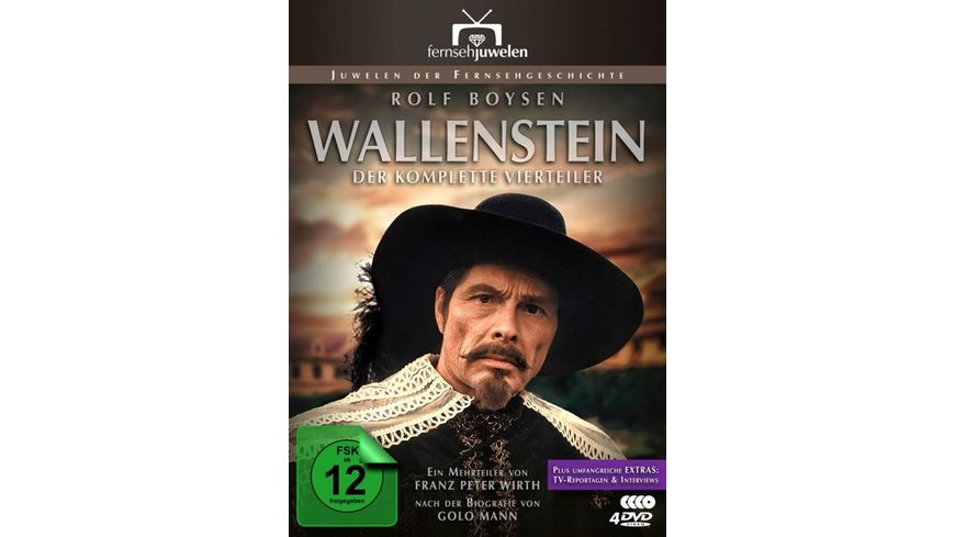Wallenstein 4 DVDs