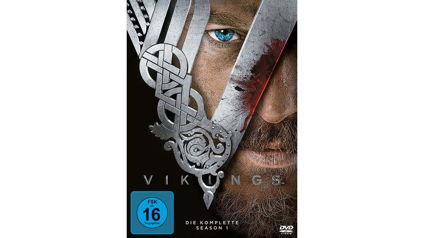 Vikings Season 1 3 DVDs
