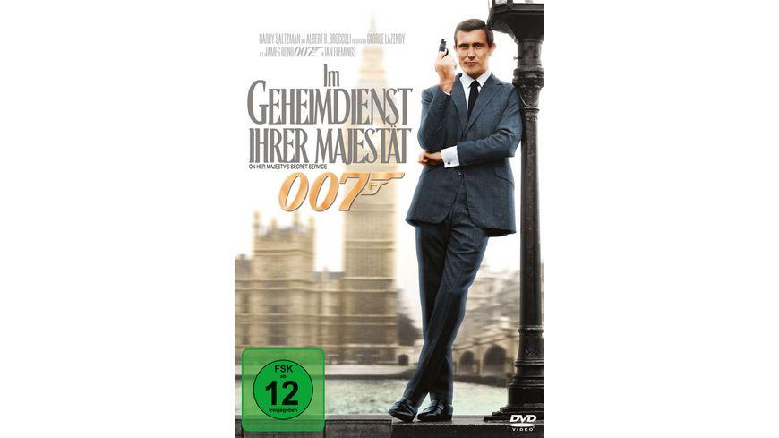 James Bond Im Geheimdienst ihrer Majestaet