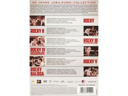 Rocky Complete Saga 6 DVDs