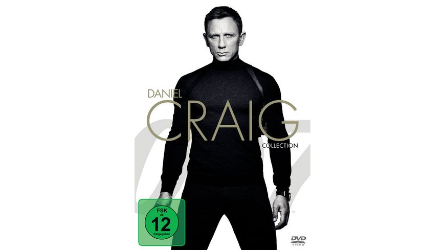 Daniel Craig Collection 4 DVDs