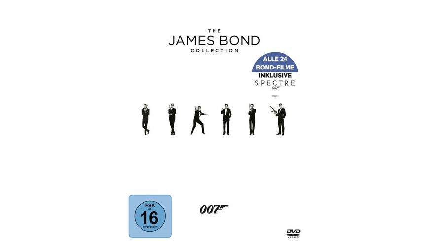 James Bond Collection 2016 24 DVDs