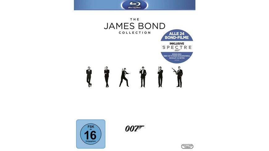 James Bond Collection 2016 25 BRs