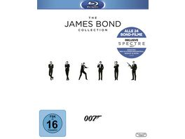 James Bond Collection 2016 25 BRs