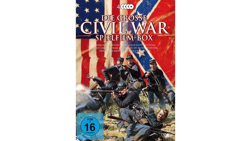 Civil War Box 4 DVDs