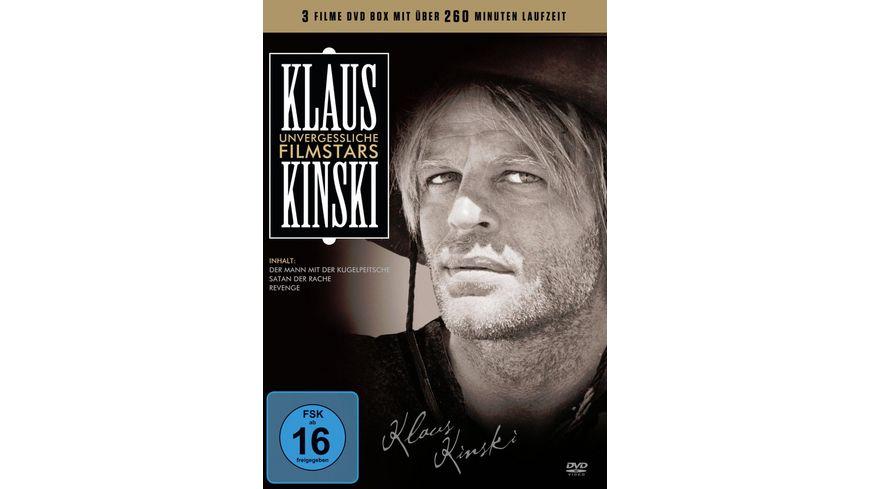 Unvergessliche Filmstars Klaus Kinski