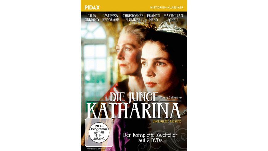 Die junge Katharina 2 DVDs
