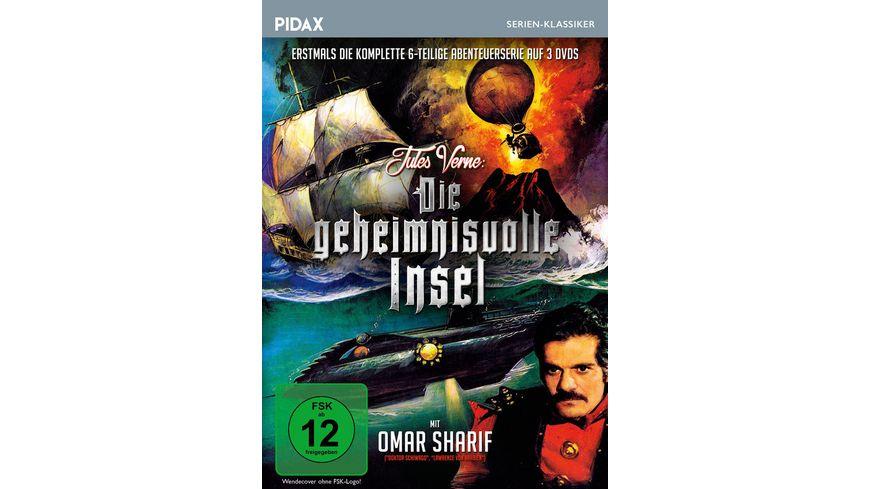 Jules Verne Die geheimnisvolle Insel 3 DVDs