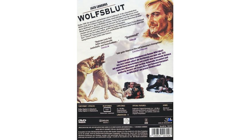 Jack Londons Wolfsblut Uncut