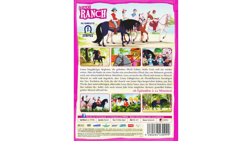 Lenas Ranch Die komplette 1 Staffel 6 DVDs