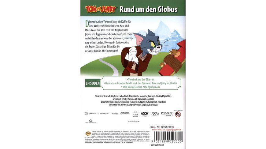 Tom Jerry Rund um den Globus Warner Kids Edition