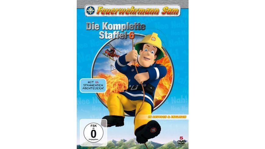 Feuerwehrmann Sam Die komplette Staffel 6 5 DVDs