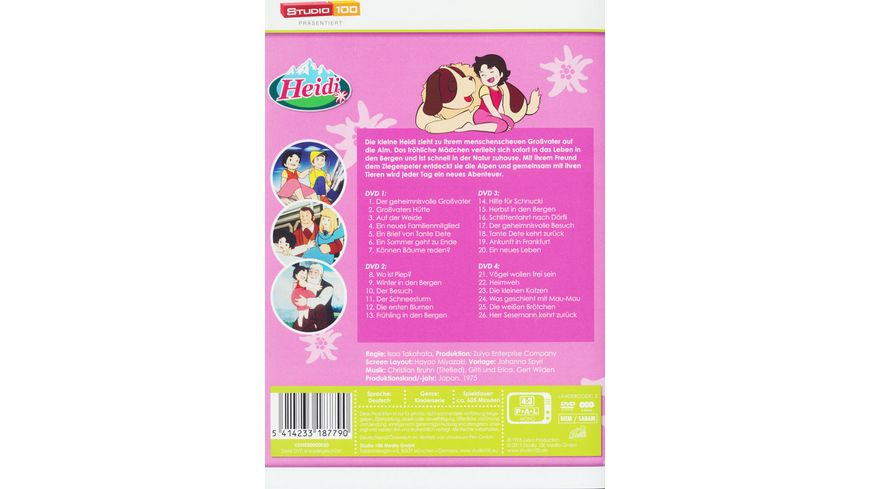 Heidi Teilbox 1 4 DVDs