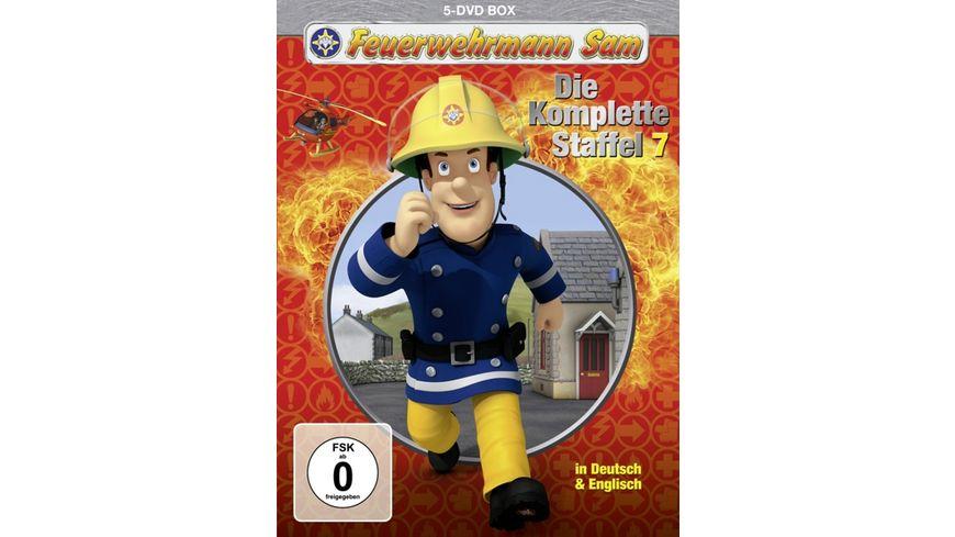 Feuerwehrmann Sam Die komplette Staffel 7 5 DVDs