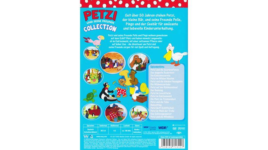Petzi Collection Petzi und die Saurierpflanze Petzi im Kakteenwald 2 DVDs