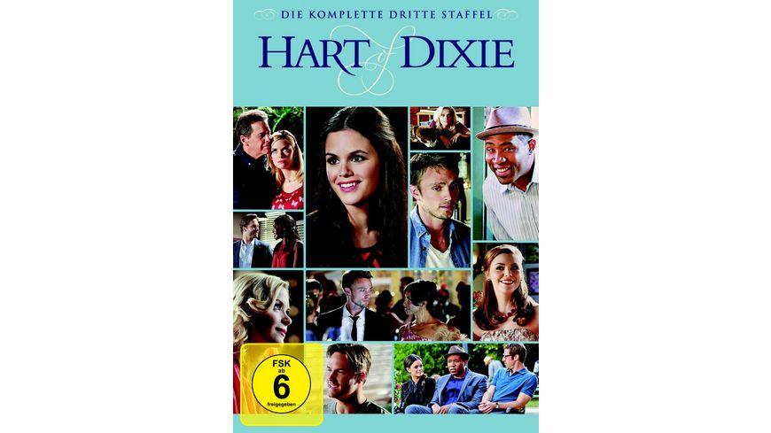 Hart of Dixie Die komplette 3 Staffel 5 DVDs