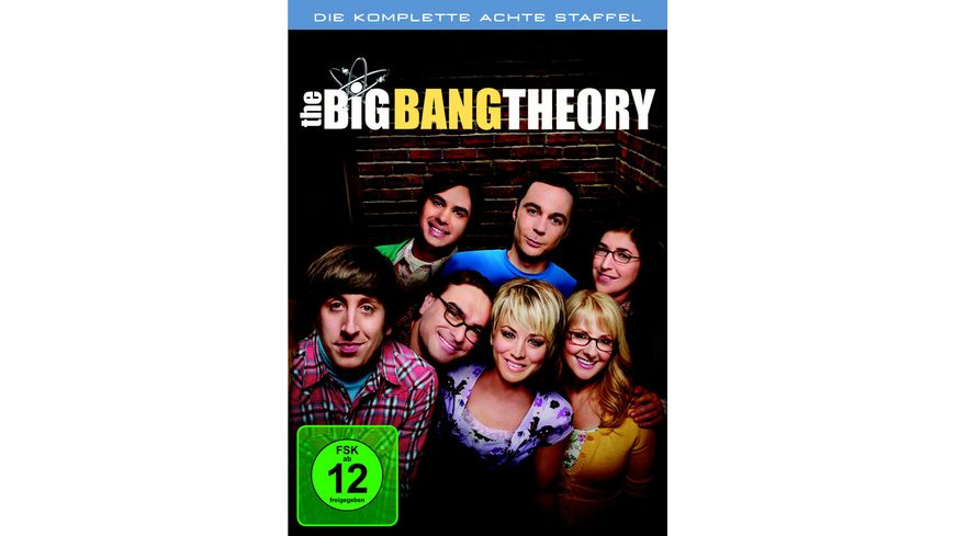 The Big Bang Theory Staffel 8 3 DVDs