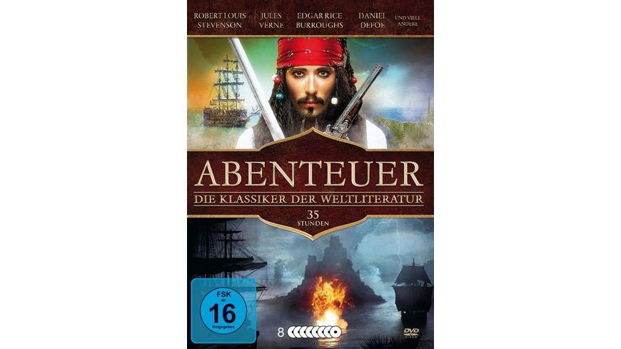 Abenteuer Die Klassiker der Weltliteratur 8 DVDs