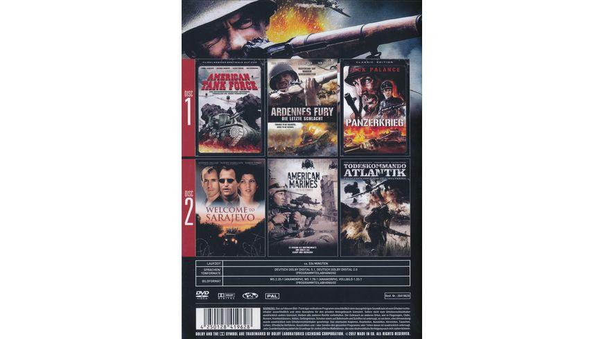 Panzerkrieg Men at War Spielfilmbox 2 DVDs