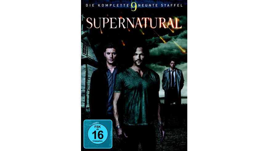 Supernatural Staffel 9 6 DVDs