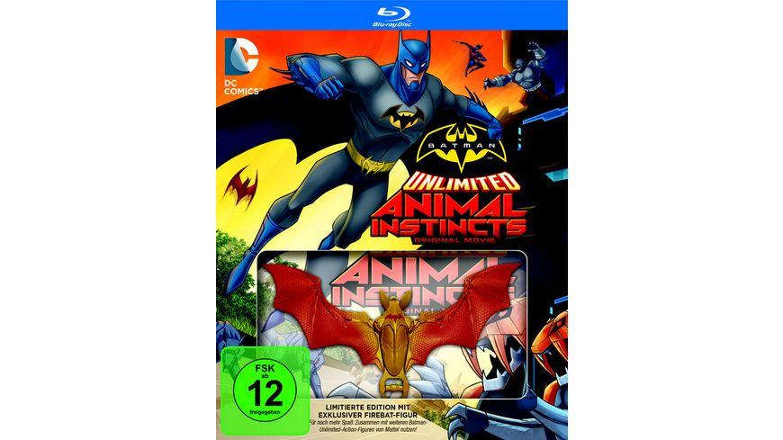 Batman Unlimited Animal Instinct LE inkl Firebat Figur