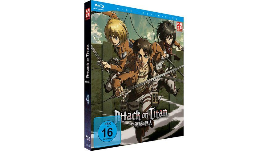 Attack on Titan Vol 4 Ep 20 25