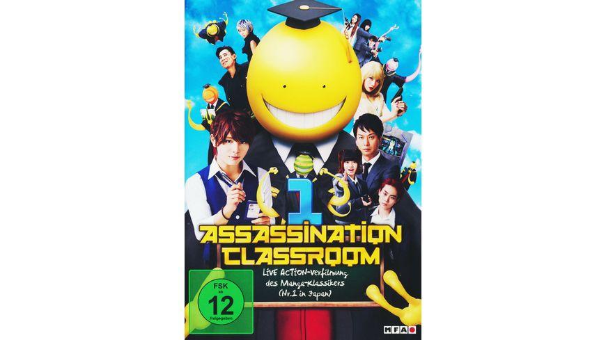Assassination Classroom Part 1