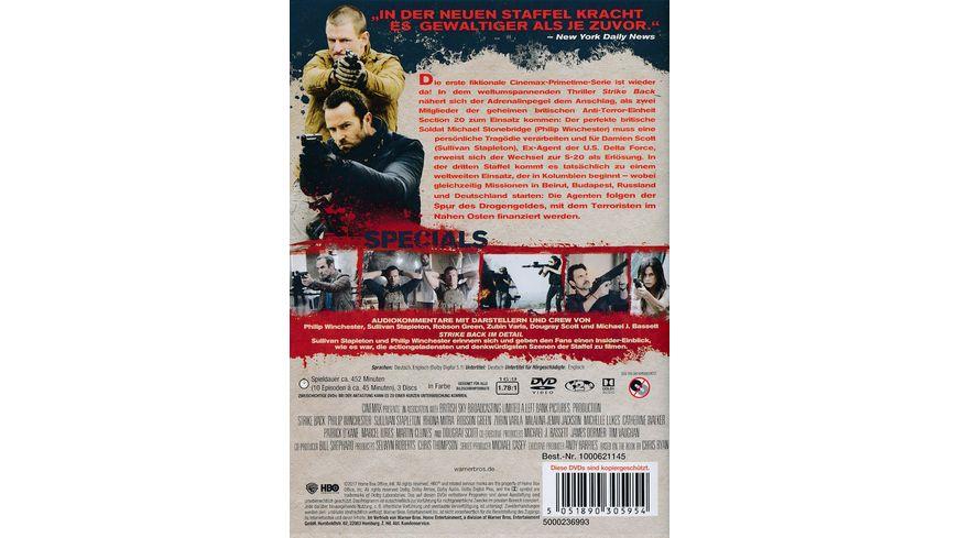 Strike Back Staffel 3 3 DVDs