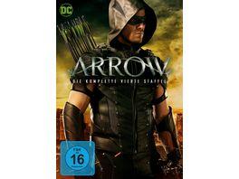 Arrow Staffel 4 5 DVDs