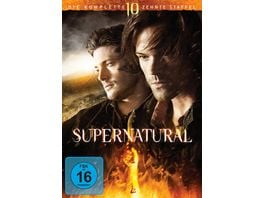 Supernatural Staffel 10 6 DVDs