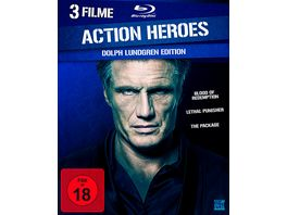 Action Heroes Dolph Lundgren Edition 3 BRs