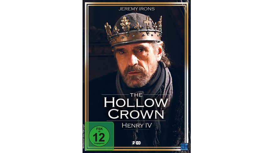 The Hollow Crown Henry IV Teil 1 und 2 2 DVDs
