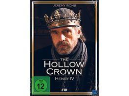 The Hollow Crown Henry IV Teil 1 und 2 2 DVDs