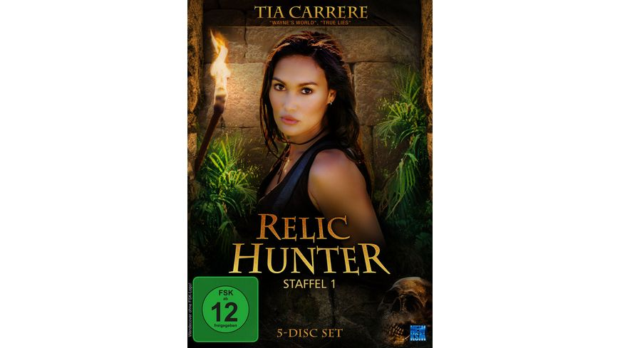 Relic Hunter Staffel 1 5 DVDs