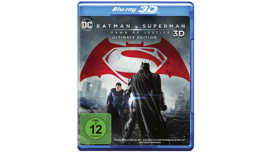 Batman v Superman Dawn of Justice Blu ray 2D Kinofassung Blu ray 2D Ultimate Edition