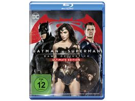 Batman v Superman Dawn of Justice Blu ray 2D Kinofassung UE