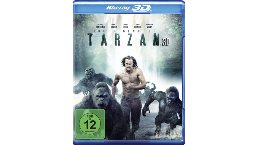 Legend of Tarzan Blu ray
